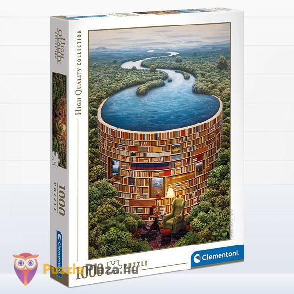 1000 darabos bibliodame puzzle doboza. Clementoni 39603