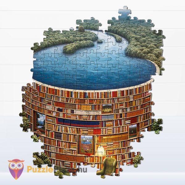 1000 darabos bibliodame puzzle részlet. Clementoni 39603