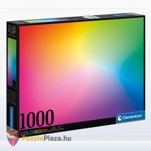 Clementoni ColorBoom Collection - Letisztultság puzzle - 1000 db