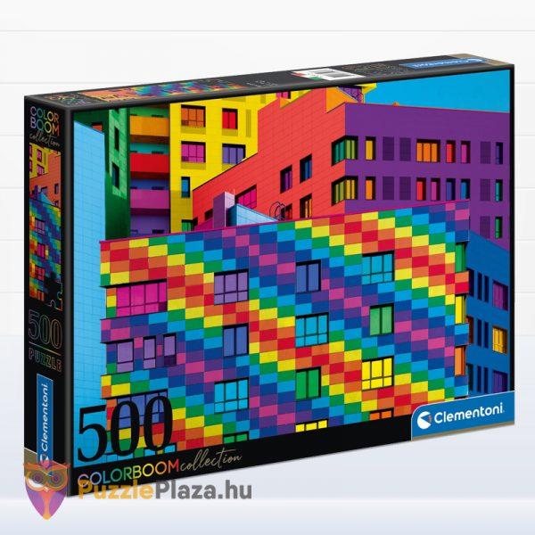 500 db Négyzetek (Squares) ColorBoom Collection Puzzle - Clementoni 35094
