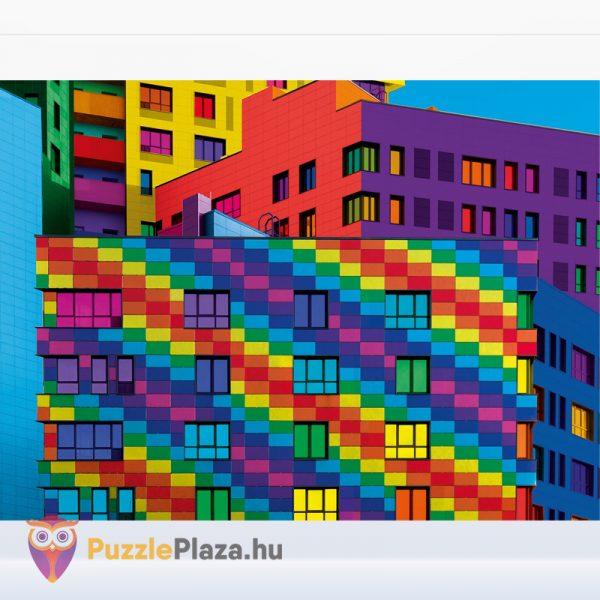 500 db Négyzetek (Squares) ColorBoom Collection Puzzle kirakó képe - Clementoni 35094
