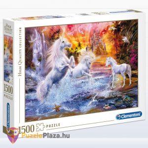 1500 darabos Vad unikornisok puzzle, Clementoni 31805