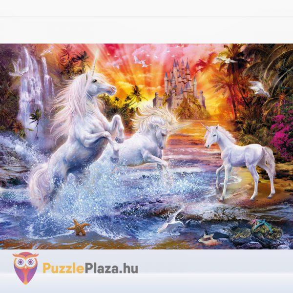 1500 darabos Vad unikornisok puzzle kirakva, Clementoni 31805