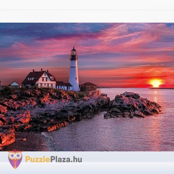 500 darabos portlandi világítótorony multi puzzle. Clementoni 08106