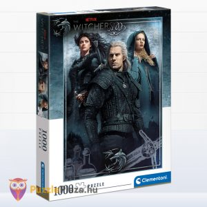 1000 db-os Witcher 2 puzzle (Vaják 2 kirakó) - Clementoni 39592